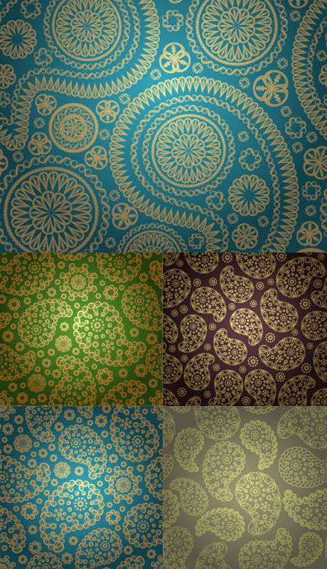 Silk shading Vector vector silk pattern decoration classical background