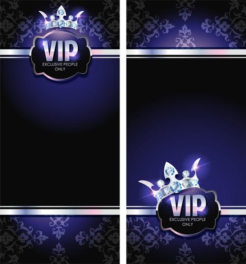 Diamond crown with dark blue vip invitation card vector 06 gooloc name diamond crown with dark blue vip invitation card vector 06 license creative commons attribution 30 categories vector card file stopboris Gallery